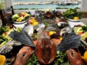 Deniz ürünleri kalori cetveli